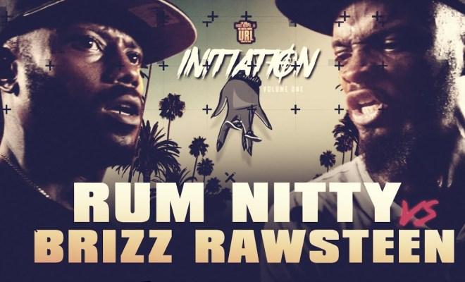 Brizz Rawsteen VS Rum Nitty S M A C Ok Rap Battle | URLTV