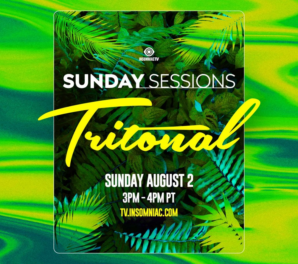 Tritonal Sunday Sessions Live Stream Artwork