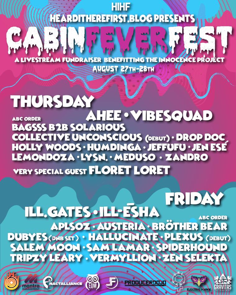 Cabin Fever Fest Live Stream