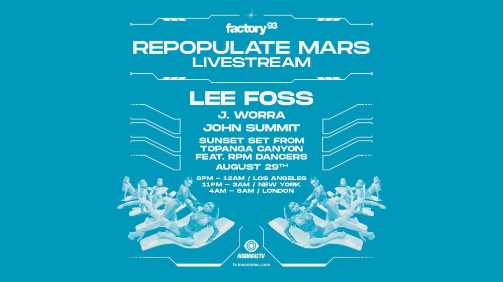 Repopulate Mars Live Stream